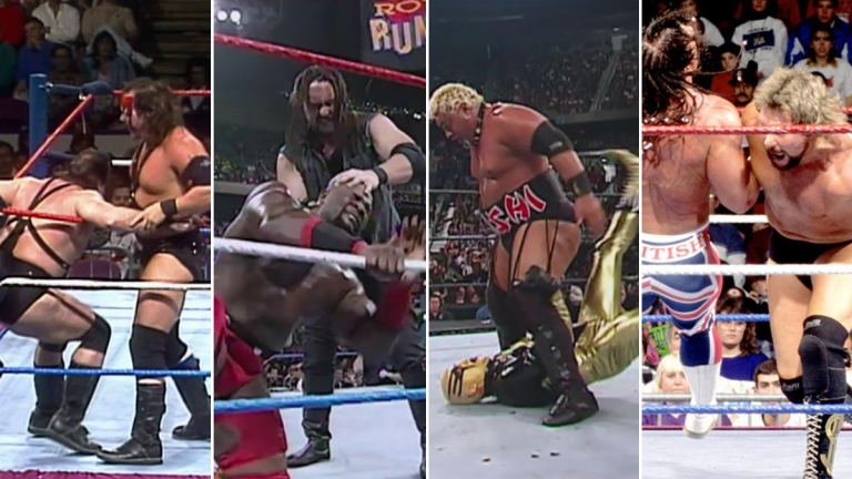 WWE Royal Rumble Starter Matches