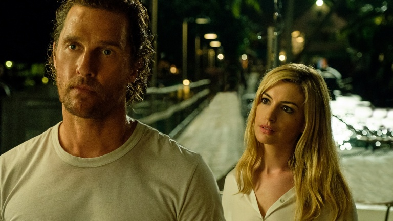 Matthew McConaughey and Anne Hathaway in Serenity