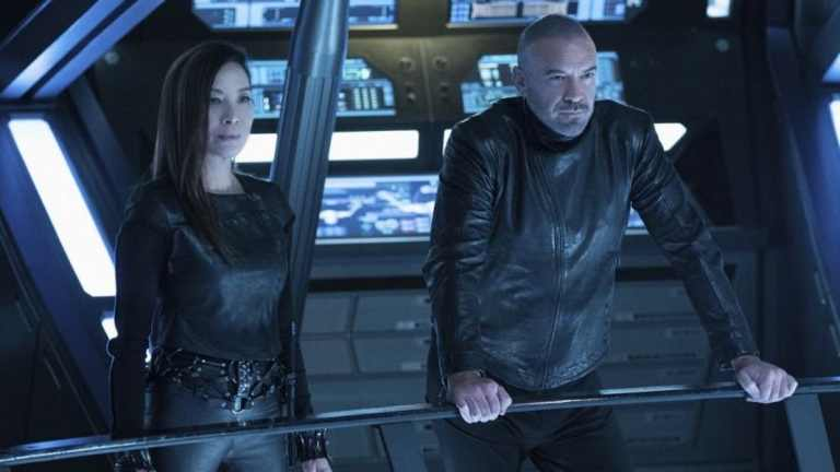 Michelle Yeoh on Star Trek: Discovery; CBS All Access