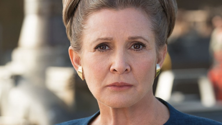 Carrie Fisher as General Leia Organa in Star Wars