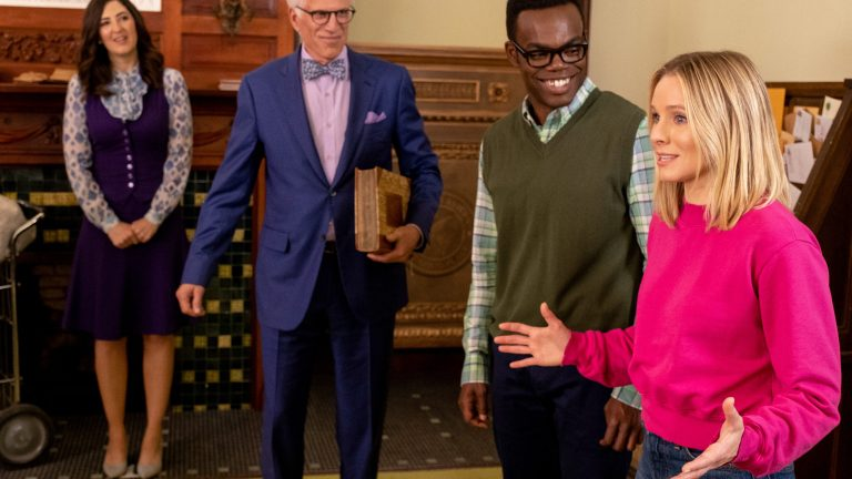The Good Place Season 3 Episode 10: The Book of Dougs