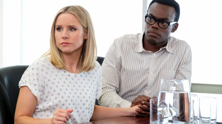 The Good Place Season 3 Episode 11 Chidi Sees the Time Knife
