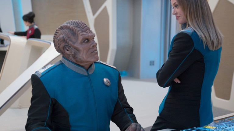 The Orville Season 2 Episode 5 All the World is Birthday Cake