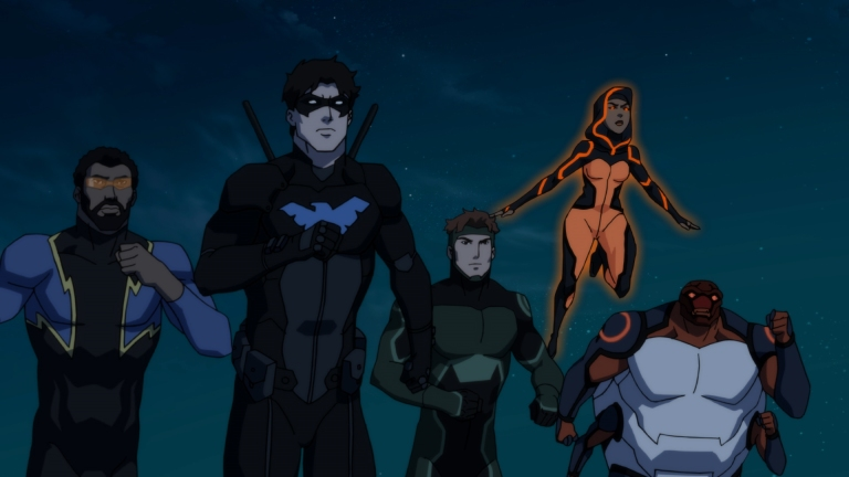 Young Justice Outsiders Season 3 Episode 8: Triptych