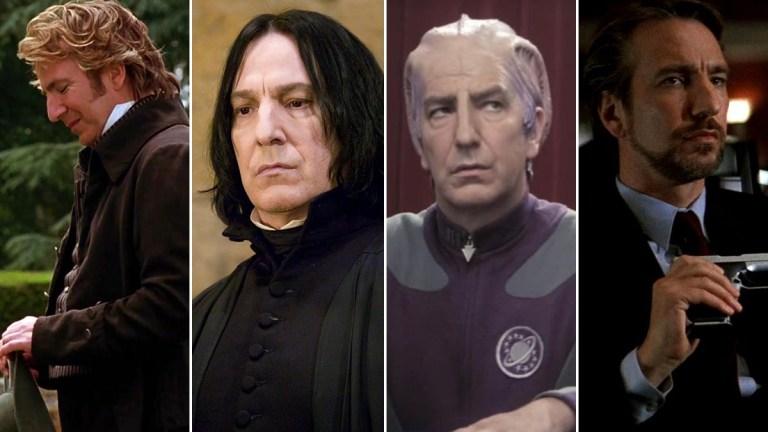 Alan Rickman's best acting roles