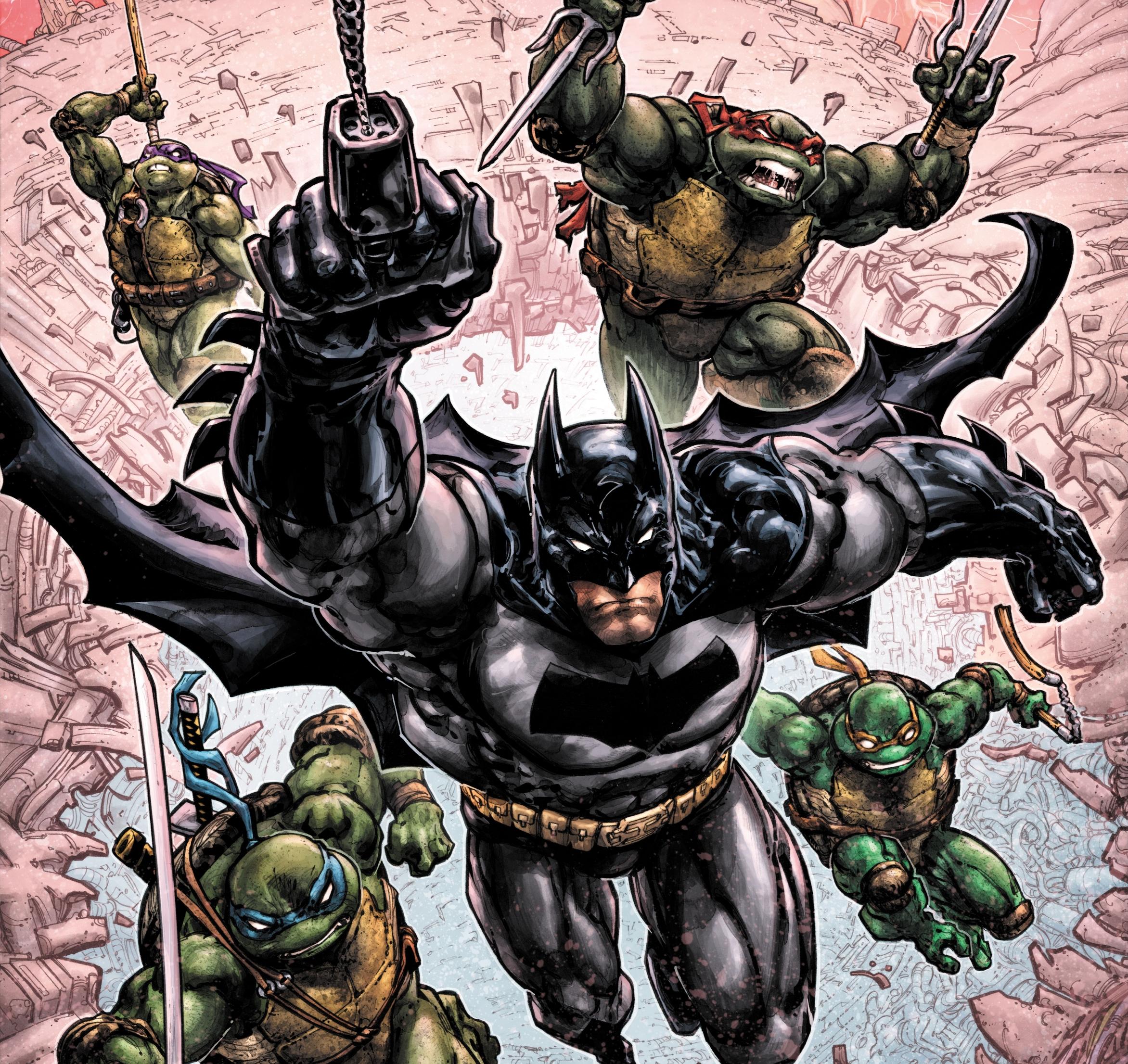 Batman Teenage Mutant Ninja Turtles Iii Coming This May Den Of Geek