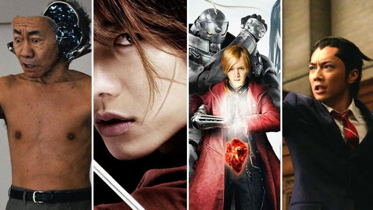 Best Live Action Anime Films