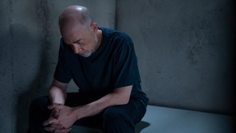 J.K. Simmons as Howard Silk in prison in Counterpart