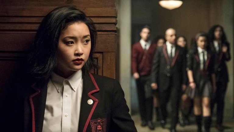 Saya watches Maria and the Soto Vatos in Deadly Class
