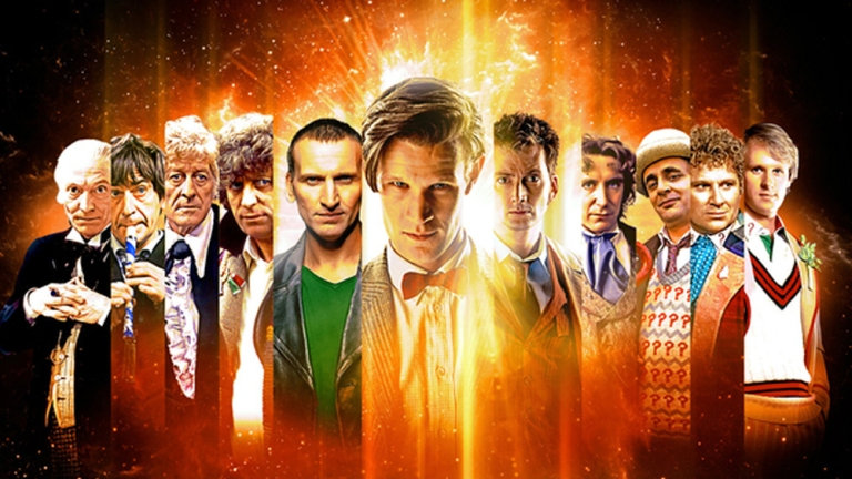 Doctor Who 50th anniversary composite