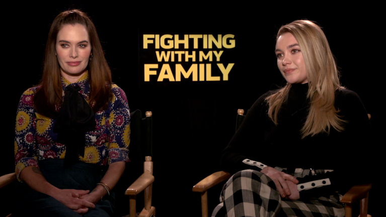 Fighting with My Family Florence Pugh Lena Headey WWE