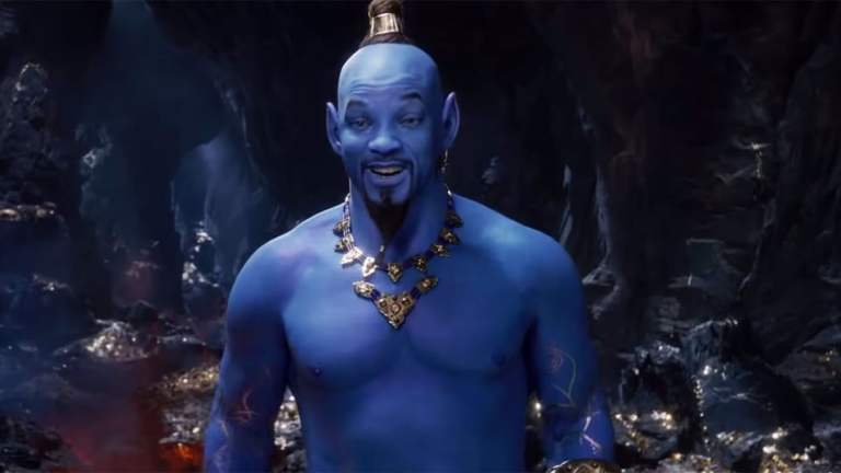Will Smith as Genie in Live Action Aladdin