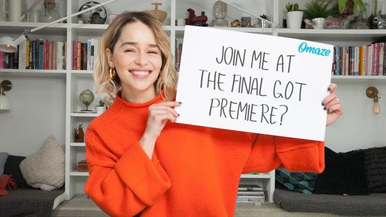 Game of Thrones Season 8 Emilia Clarke Contest