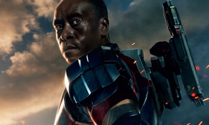 Don Cheadle as War Machine in Marvel's Iron Man 3