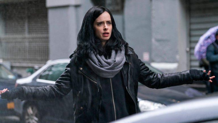 Krysten Ritter as Marvel's Jessica Jones on Netflix