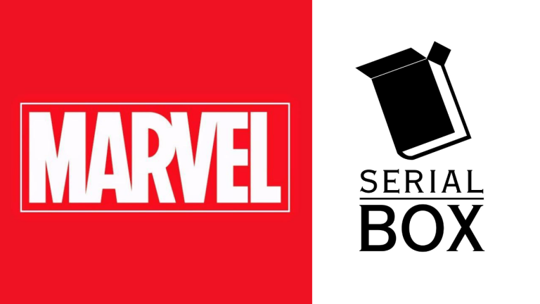 Marvel & Serial Box Logos