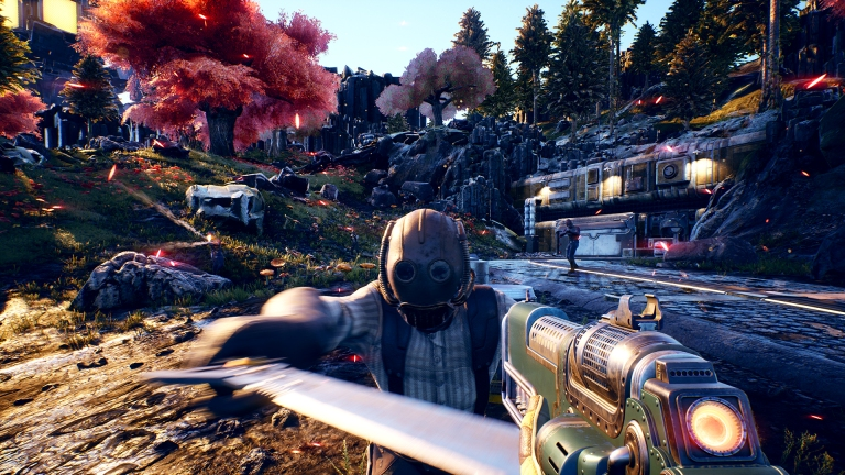 Outer Worlds Combat Gameplay
