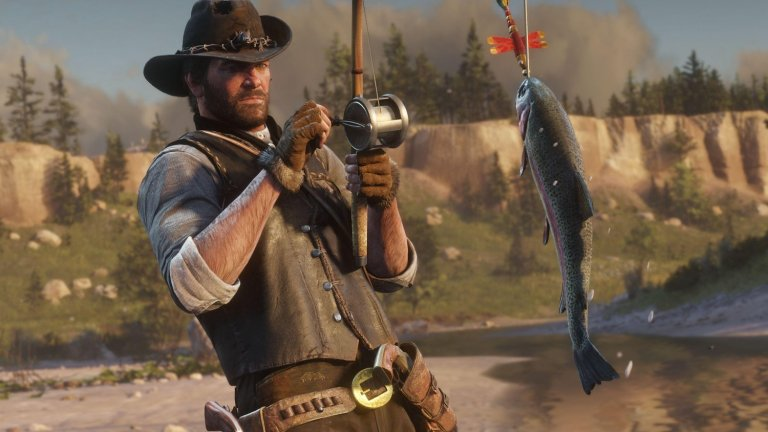 Red Dead Online: Fishing Challenges