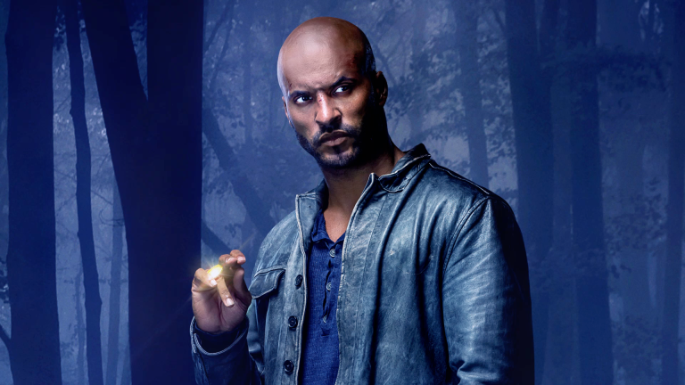 Ricky Whittle as Shadow Moon on American Gods