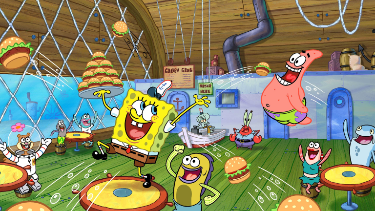SpongeBob Squarepants 20th Anniversary Best Year Ever