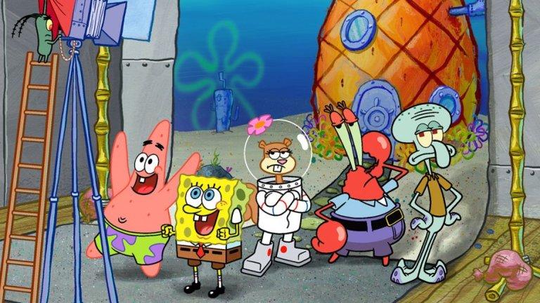 SpongeBob SquarePants and Patrick Star.