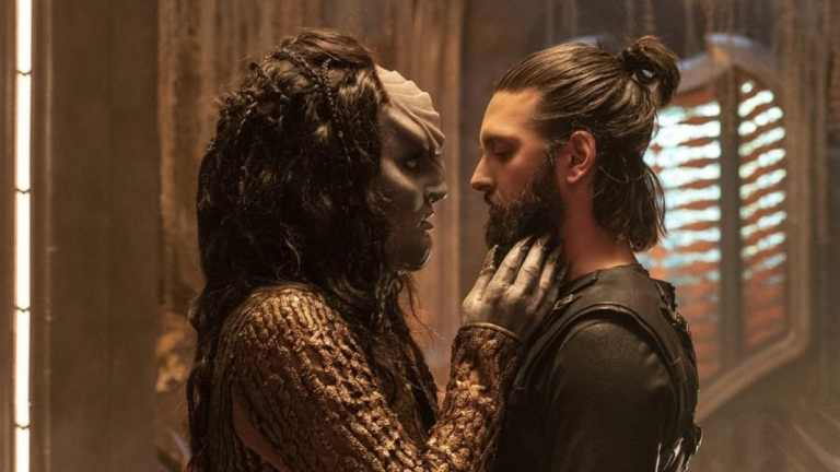 L'Rell and Tyler in Star Trek: Discovery Season 2 Episode 3