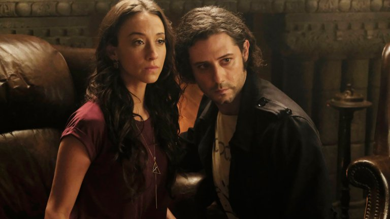 Julia and Eliot in The Magicians