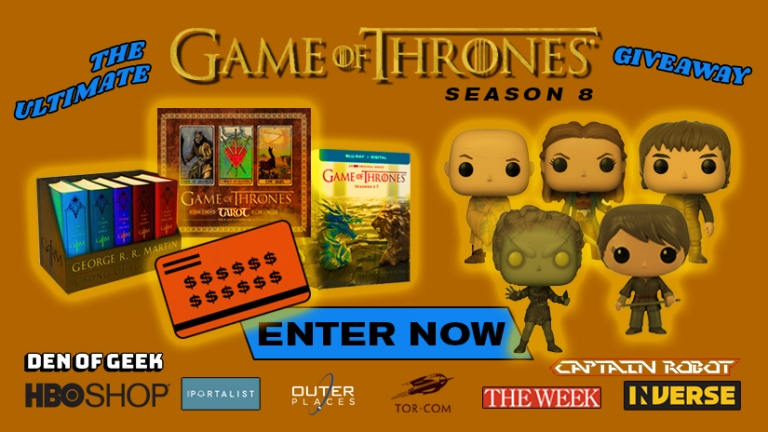 Game of Thrones Season 8 Prize Pack Giveaway