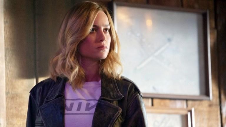 Brie Larson as Carol Danvers in Captain Marvel