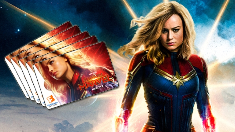 Win Our Exclusive Captain Marvel Giveaway with Fandango!