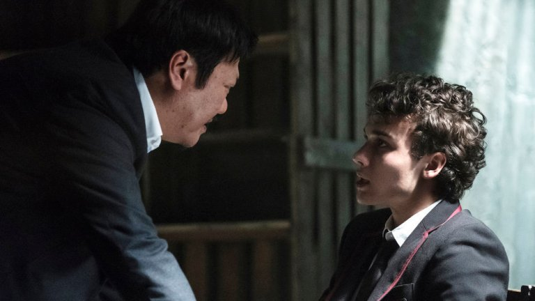 Master Lin interrogates Marcus in Deadly Class