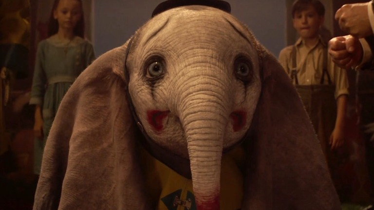 Dumbo Tim Burton Movie Good
