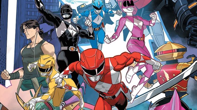 Go Go Power Rangers: Forever Rangers #1 Dan Mora Cover