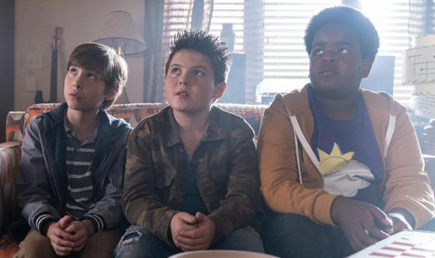 Good Boys: Brady Noon, Jacob Tremblay and Keith L. Williams