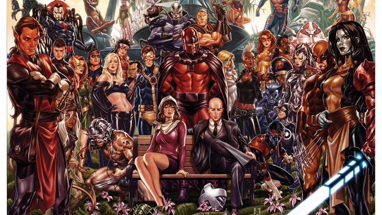 Hickman July 2019 Marvel Poster