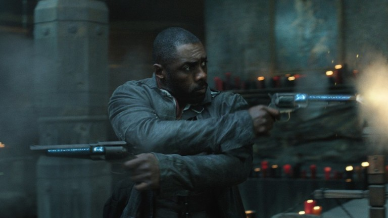 Idris Elba as Roland the Gunslinger in The Dark Tower