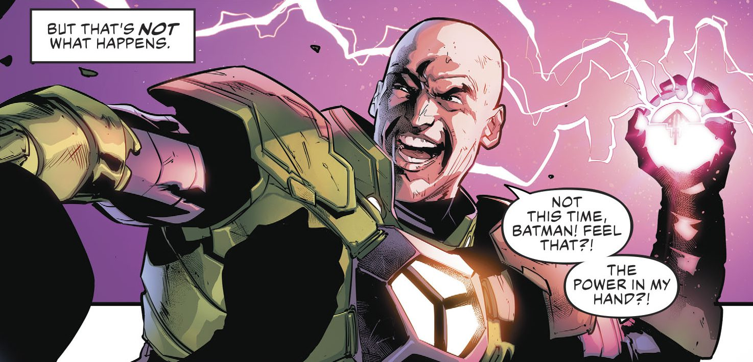 Lex Luthor in the Legion of Doom