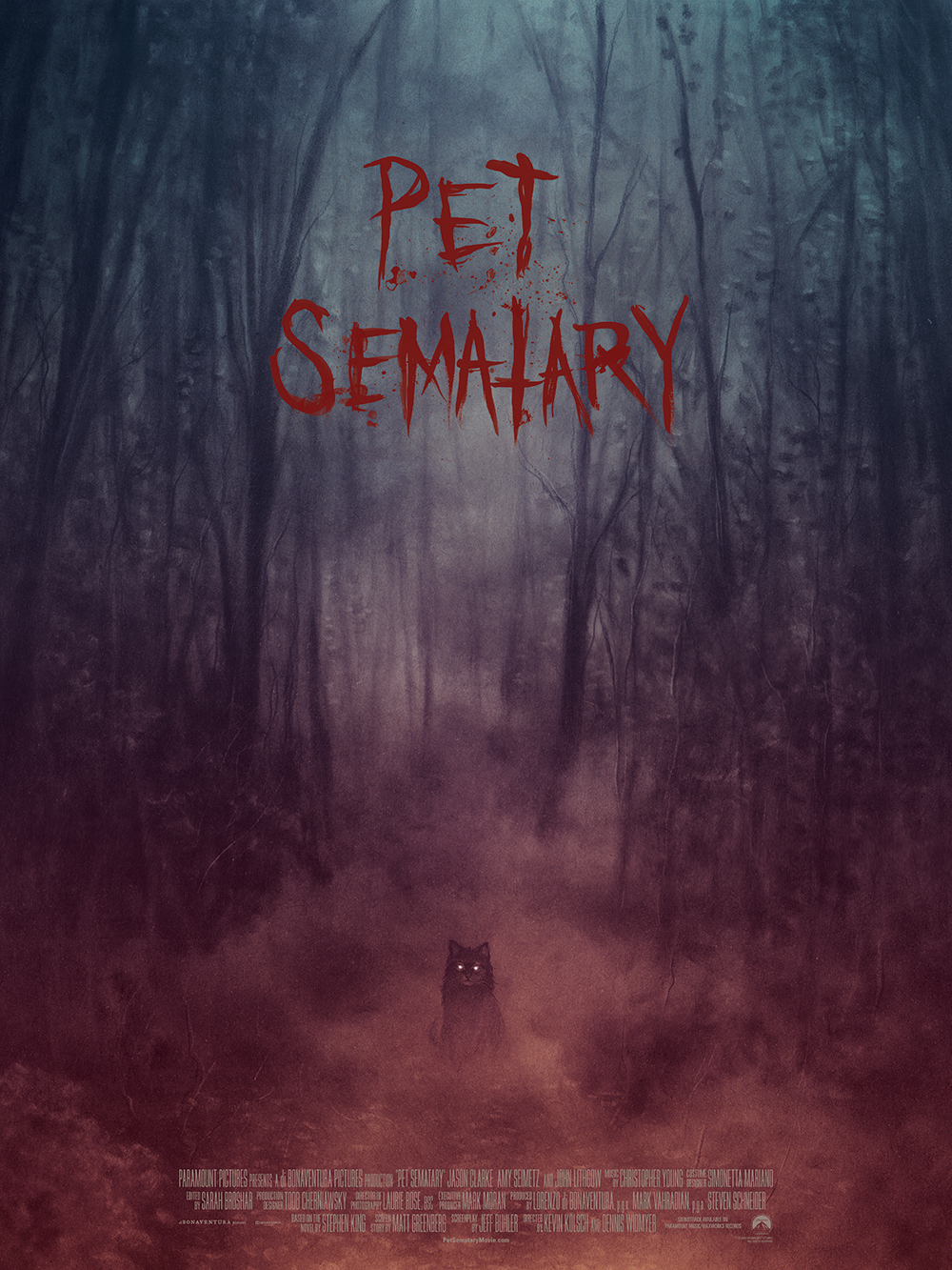 Pet Sematary Church The Cat Shines In Exclusive Mondo Poster Den Of Geek