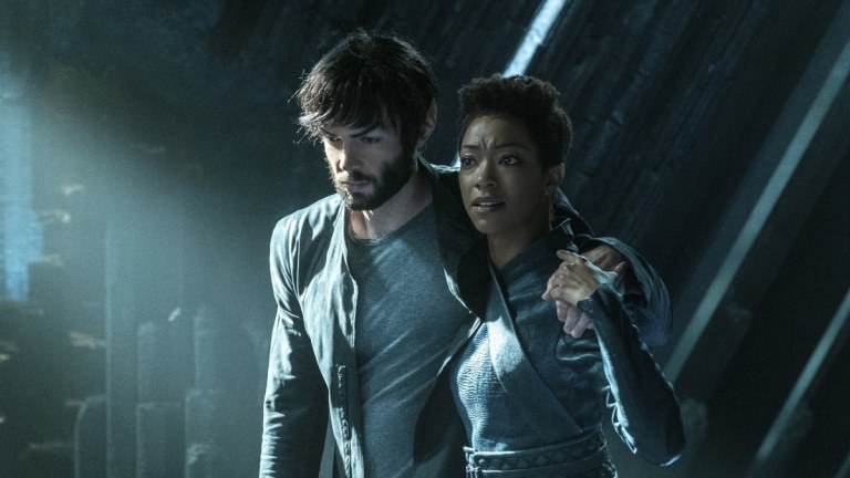 Spock and Michael in Star Trek: Discovery Season 2 Episode 8