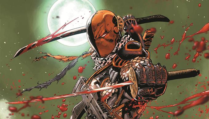 Titans Season 2 Deathstroke on DC Universe