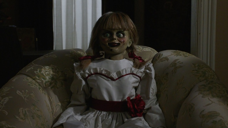 Annabelle in Annabelle Comes Home
