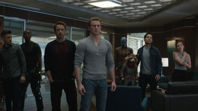 Avengers: Endgame Team Roster