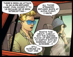 Avengers Endgame What Captain Marvel S Hair Means To Fans Den Of Geek