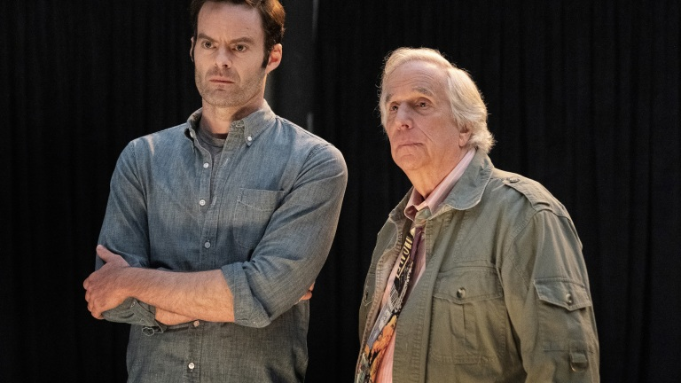 Bill Hader and Henry Winkler on HBO's Barry