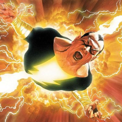 Black Adam in DC Shazam Comics