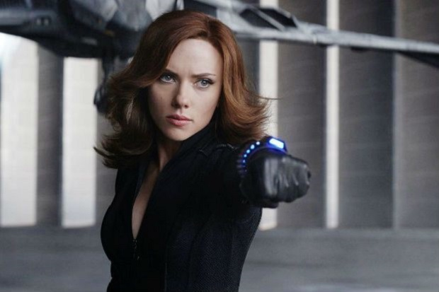Scarlett Johannson as Marvel's Black Widow