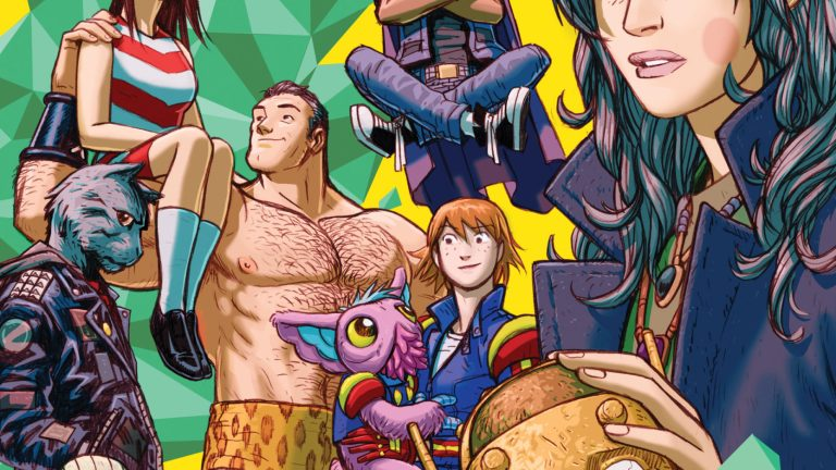 Doom Patrol: Weight of the Worlds by Gerard Way for DC's Young Animal