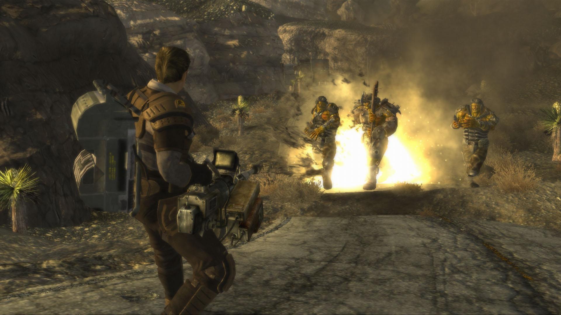Fallout New Vegas Mod Changes Post Game World Den Of Geek