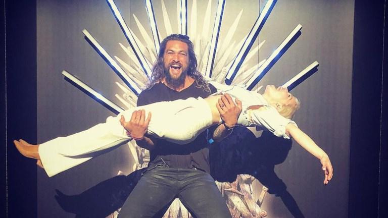 Game of Thrones Jason Momoa Emilia Clarke Lost Her