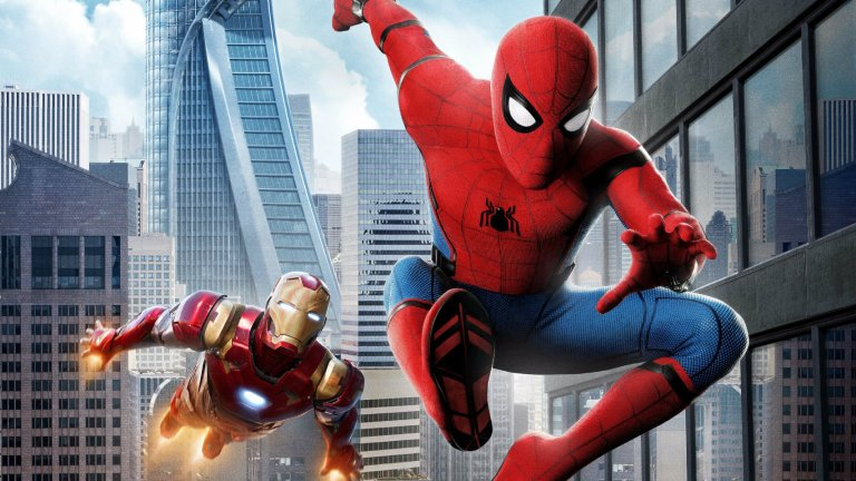 Marvel's Spider-Man: Homecoming Poster With Iron Man